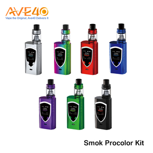 Authentic Vape Distributor Ave40 Offered!! Smok Procolor Kit with Anti-slip Fire Key in Wholesale
