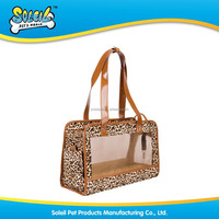 2015 Fashionable Leopard Pet Carrier Pet Bag Pet Item