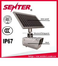 IP65 waterproof OEM SENTER ST2303B CCTV Camera / outdoor 3g security camera with sim card solar panel battery