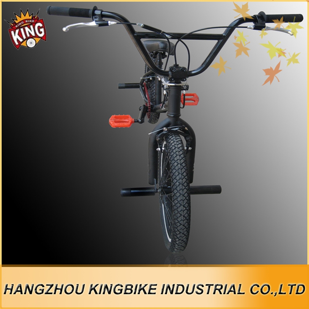Aluminum hub integrated headset steel frame and fork very light bmx bikes
