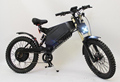 72V 3000W Stealth Bomber E-Bike with 72V 30Ah Li-ion Battery Front and Rear Suspension Fork Electric Motorcycle