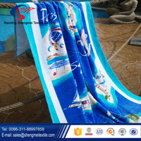 100 organic cotton beach towel for 940g 105*180 with activity of printing