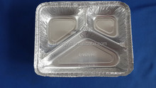 airline aluminum foil food container,lunch box