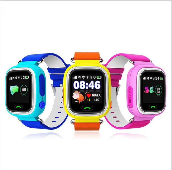 Hot selling children watch gps smart watch gps kids tracker watch anti-theft device for mobile phone