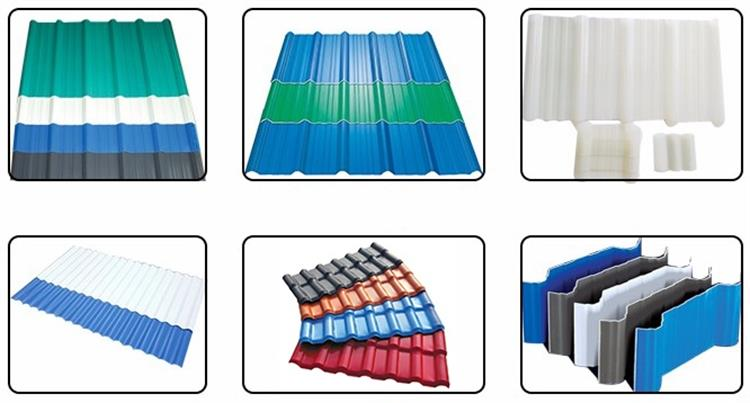 Factory supply clear corrosion resistance roofing sheets