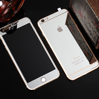 Full cover tempered glass screen protector for iphone Mirror ultra thin tempered glass screen protector wholesale