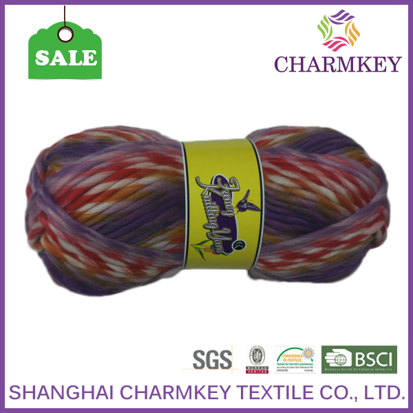 Top quality acrylic chenille yarn for knitting warm scarf