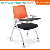 Modern Design Cheap Student Reading Chair With Writing Tablet