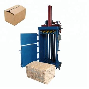 hydraulic Pet Plastic Bottle Baler Machine Compress Baler