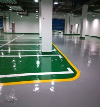 Manufacturer Heavy Duty Epoxy Floor Coating Paint For Car Park