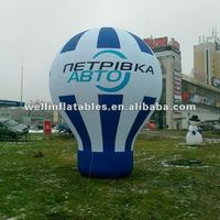 advertising inflatable balloon on ground