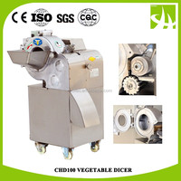 CHD100 Popular Market Energy Saving fruit cube cutting machine/Vegetable Dicer/Slicer/Cutter