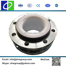 Forged steel flange rubber flexible connector ptfe lined expansion joints