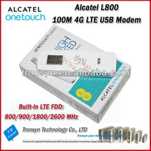 2014 Cheapest Original Unlock LTE FDD 100Mbps Alcatel L800 4G LTE Modem And 4G USB Data Card