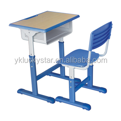 Single School Desk and Stool for Students/School Furniture/kids furniture