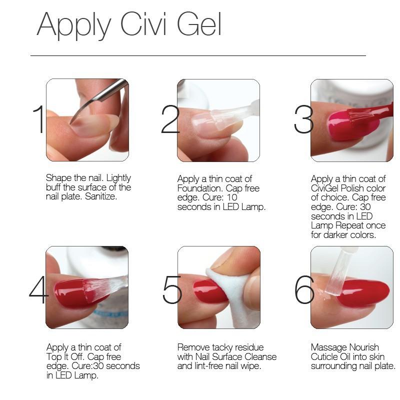 Change Color Gel Polish Cosmetic Nail Polish Gel uv gel nail polish ...