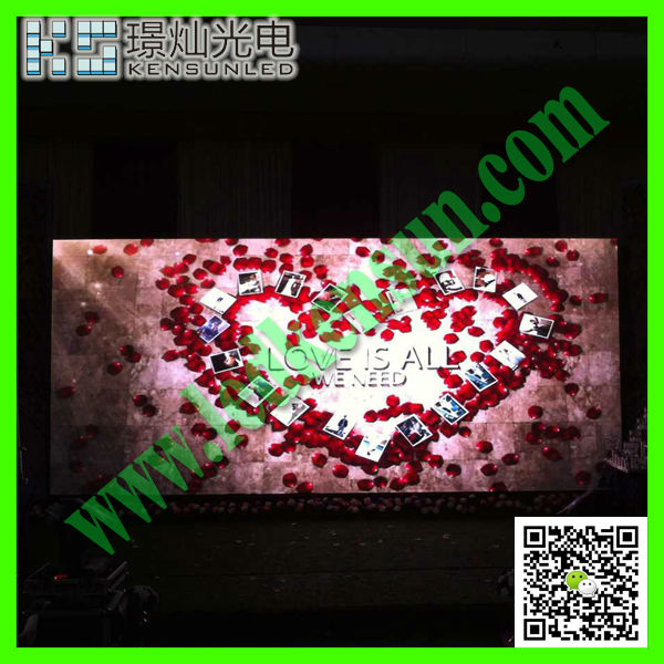 Energy saving full color HD LED video display screen g10 blue