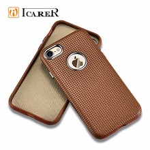 China Bulk buy mobile phone accessories 4.7 inch leather back cover cell phone case for iphone 7