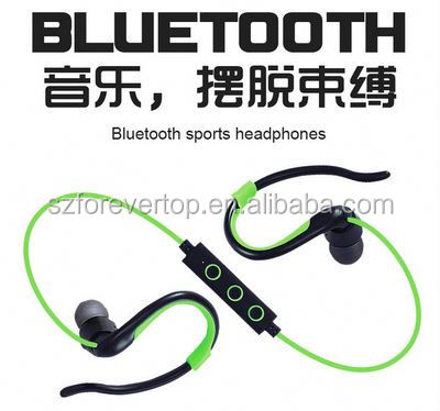 LOOK!fancy bests running bluetooth wireless ear-hook bring you amazing listening bluetooth earphone for dj stadio airplane
