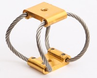 Compact wire rope isolators stabilize your UAV camera