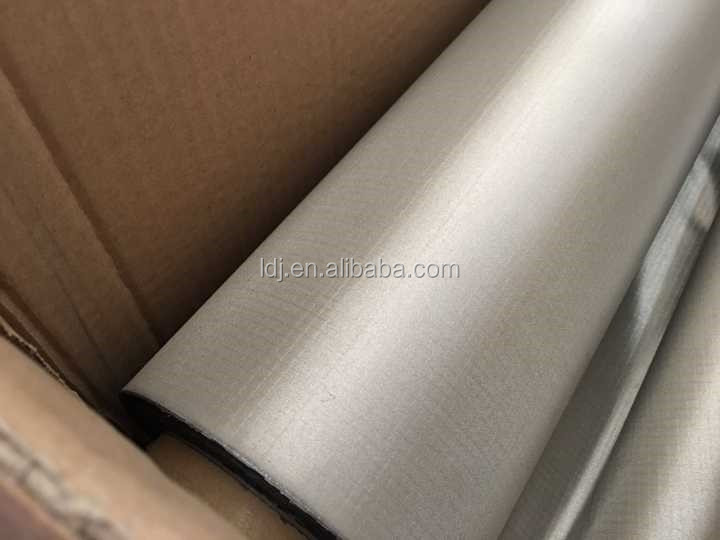 Conductive Cu+Ni coated RFID EMI Shielding Fabric for credit card lining