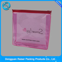 Collection!The Cheapest Promotional Fashion Hot Sell Transparent PVC Ziplock Bag