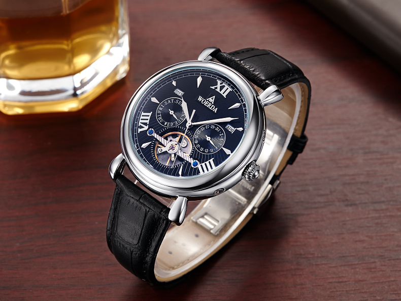 September hot sale sapphire waterproof diver mechanical wrist luxury mens automatic watch