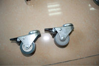 High quality bed caster wheel with brake