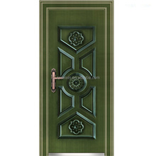 Lustrous and durable appearance Exterior Spanish design Steel security door