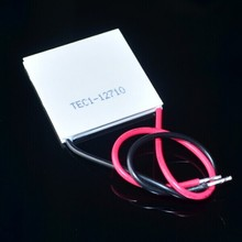 Wholesale-New 100W TEC1-12710 DC12V 10A Thermoelectric Cooler Peltier 40*40*3.6MM Best prices +Free Shipping! TEC1 12710