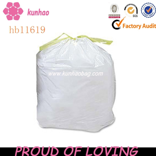 colored drawstring trash garbage bag hb11619