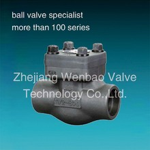 A105N Forged Steel Piston Check Valve vertical check valve