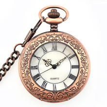 European Style Pocket Watch Custom Anime Japan Movt Quartz Pocket Watch
