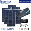 BESTSUN 6000W home use complete set supply off grid solar power system 6kw de paneles solares