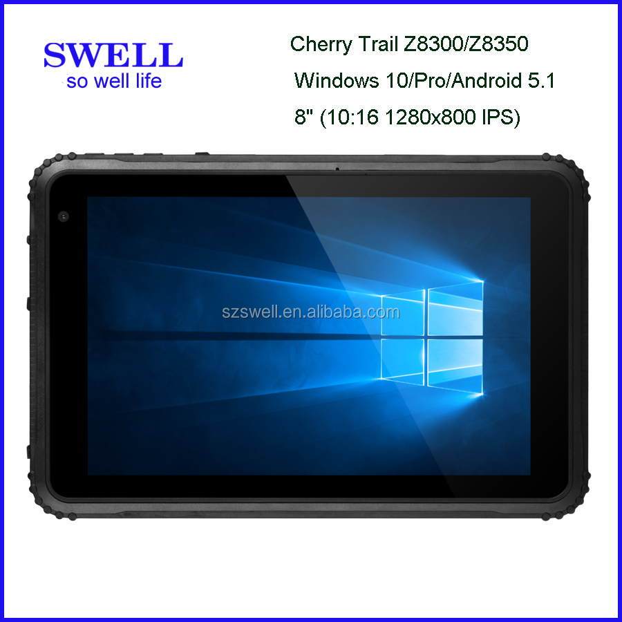 Model I80H Upgrade 8inch 2G storage tablet window tablet rs232 port, optional win 10 or Android 5.1os NFC reader