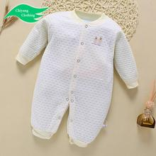 Wholesale kids jumpsuit Warmly baby wear clothes pink infant pajamas