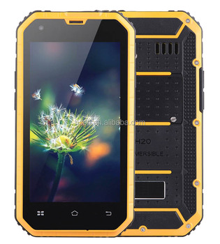 4.5inch MTK6582 Android 6.0 OS HD IPS NFC IP68 rugged smart phone with GPS FM NFC rugged mobile phone with NFC rugged