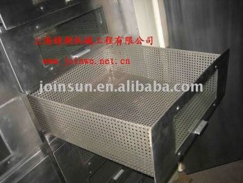 Drying packing machine of drawer type
