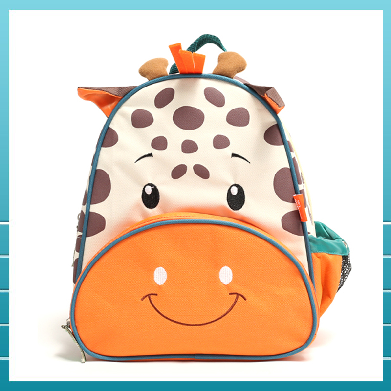 Christmas New year zoo cartoon animal school bag backpack With Good Quality