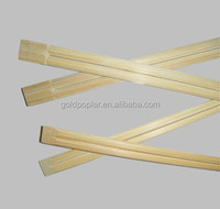 21cm disposable bamboo chopsticks with paper sleeve wrap