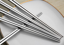 18/10 18/10 stainless steel chopsticks silver chopstick