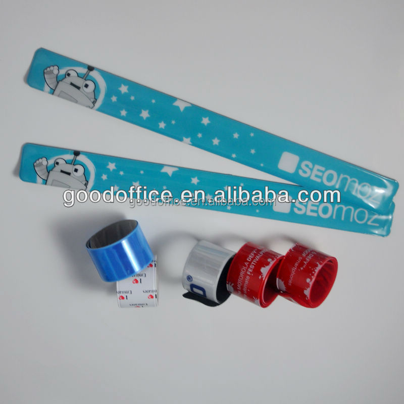 Hot sales slap band bracelet with high quality for promotion item