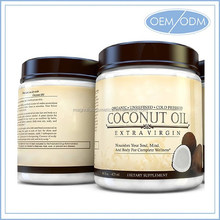 Best Cold Pressed Organic Coconut Oil For Healthy Skin Care and Hair Care