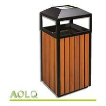Low price outdoor recycle garbage bin stand