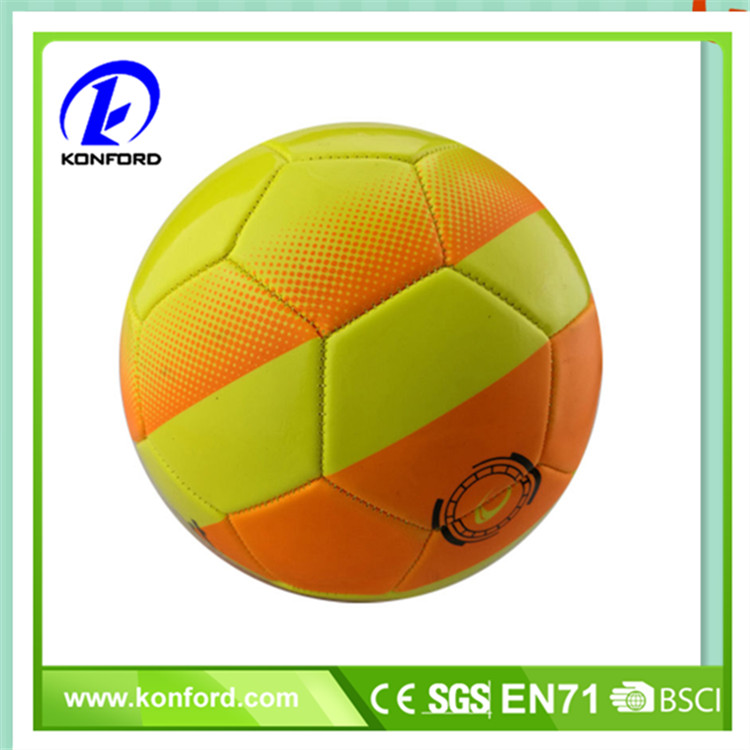 Top quality customized color cheap soccer ball