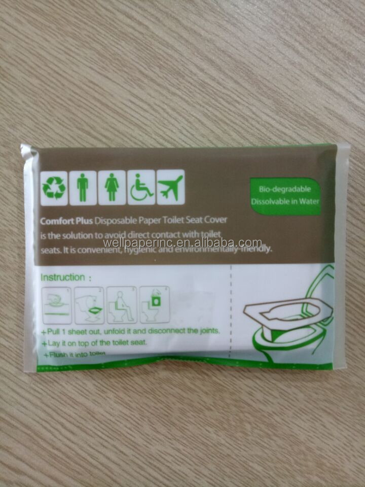 Disposable Travel Pack Toilet Seat Cover