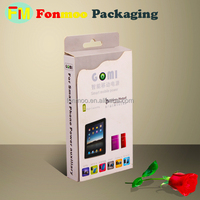 Excellent design Plastic handles corrugated Boxes for display