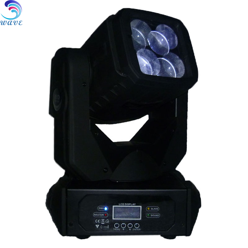 High Quality Dj Disco Party Stage Equipment Super Beam 4*25w Led Moving Head Lights 100w good for show