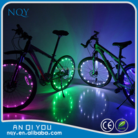 2015 latest color bicycle light wheels road bike