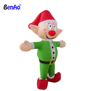 AC838 BENAO Inflatable Cartoon Characters Model / Inflatable Pink Fat Cartoon / Inflatable Cute Toy For Kids